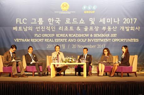 Tập đoàn FLC sẽ mở văn phòng đại diện tại Hàn Quốc vào năm 2018