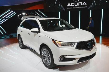 Honda thu hồi hàng nghìn xe sang Acura tại thị trường Trung Quốc