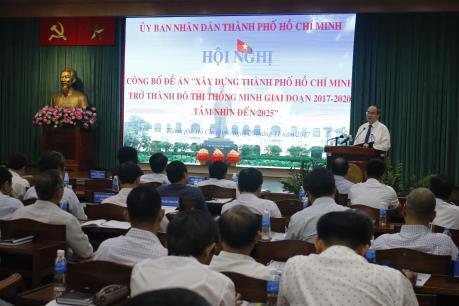 Công bố Đề án xây dựng Tp Hồ Chí Minh trở thành đô thị thông minh