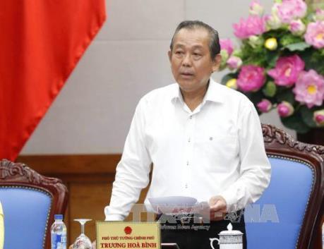 Ban Chỉ đạo Trung ương về phòng chống tham nhũng làm việc tại Thành phố Hồ Chí Minh