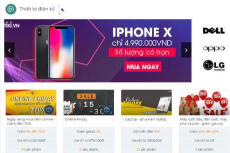 Những món hàng giảm giá sốc ngày Online Friday 2017