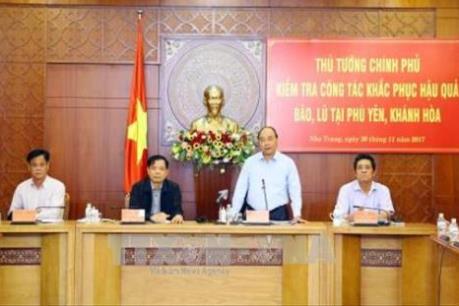 Thủ tướng đồng ý hỗ trợ 1.000 tỷ đồng cho các tỉnh thiệt hại do bão