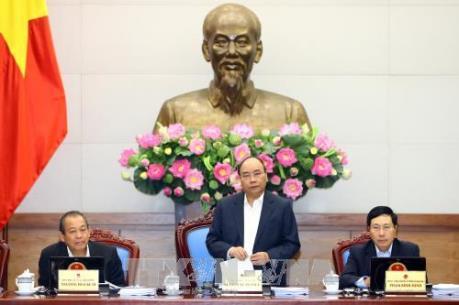 Chính phủ bắt đầu phiên họp thường kỳ tháng 11/2017
