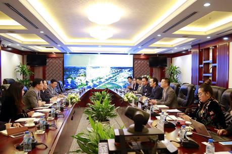 Doanh nghiệp Hàn Quốc đề nghị hợp tác với FLC đầu tư các dự án bất động sản