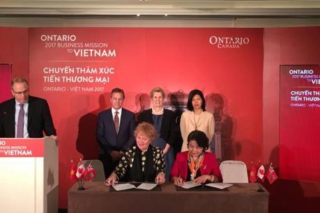 60 doanh nghiệp Canada tìm hiểu cơ hội đầu tư tại Việt Nam