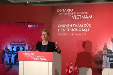 Việt Nam và Ontario đã ký kết nhiều thỏa thuận hợp tác trị giá gần 30 triệu đô la Canada
