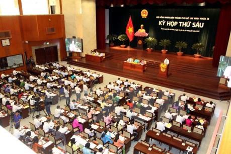 Bế mạc kỳ họp thứ 6 HĐND Thành phố Hồ Chí Minh khóa IX