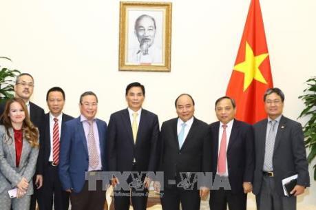 Thủ tướng Nguyễn Xuân Phúc tiếp Chủ tịch Tập đoàn Giai Nguyên (Hồng Công, Trung Quốc)