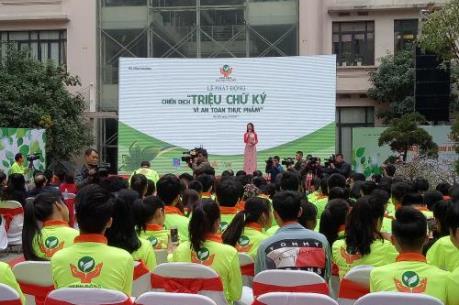Bộ Công Thương phát động chiến dịch Triệu chữ ký vì an toàn thực phẩm