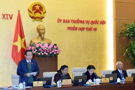 Ủy ban Thường vụ Quốc hội cho ý kiến về điều chỉnh kế hoạch vốn trái phiếu Chính phủ