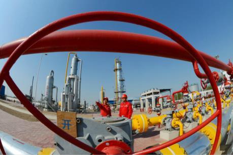 Tiêu thụ khí đốt tự nhiên tại Trung Quốc tăng đột biến