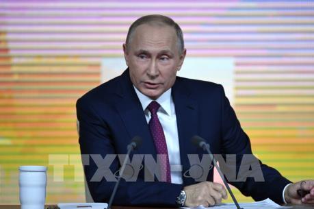 Tổng thống Putin: Nga cần trở thành một nước hiện đại với nền kinh tế công nghệ cao