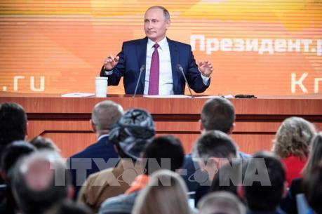 """Tổng thống Vladimir Putin: """"Nước Nga sẽ chỉ tiến lên phía trước"""""""