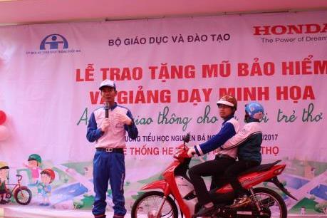 Honda Việt Nam mở rộng tập huấn an toàn giao thông cho giáo viên 17 tỉnh thành