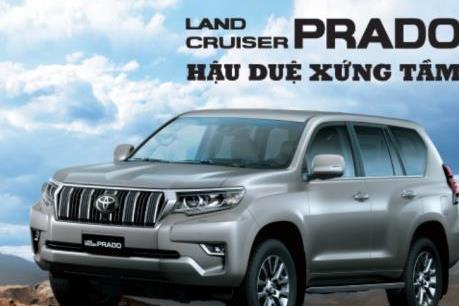 Ra mắt Land Cruiser Prado phiên bản mới đắt hơn 95 triệu đồng