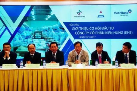 Giới thiệu cơ hội đầu tư Công ty Cổ phần Kiên Hùng (KHS)