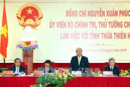 Thủ tướng Nguyễn Xuân Phúc: Phát triển Huế phải dựa trên chiều sâu về văn hóa, con người