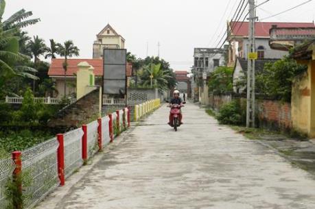 Điều chỉnh mục tiêu trong xây dựng nông thôn mới