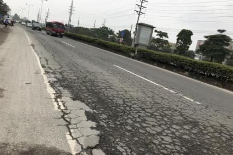 Dự án BOT Quốc lộ 2 xuống cấp nghiêm trọng do chưa được cấp tiền sửa chữa