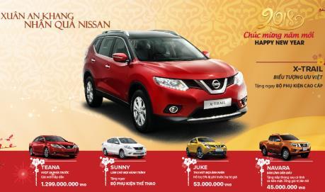 """Nissan Việt Nam công bố giá xe mới và giảm giá """"sốc"""" hơn 190 triệu đồng"""