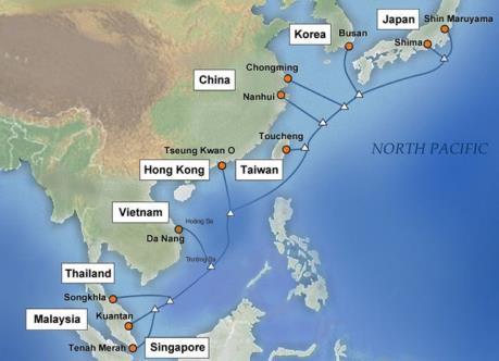 Hoàn tất di chuyển cáp quang biển quốc tế APG nhanh hơn dự kiến
