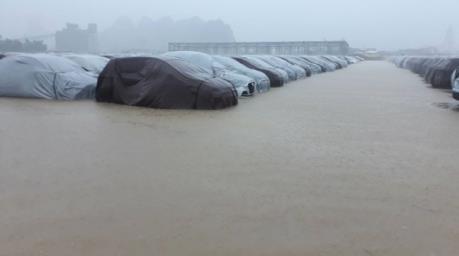 Hyundai Thành Công lên tiếng về thông tin xe ngập nước