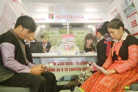 Agribank: Điểm giao dịch lưu động - Kênh dẫn vốn hiệu quả