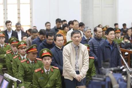Phiên tòa xét xử bị cáo Trịnh Xuân Thanh và đồng phạm: Lấy tiền của PVN để chuyển cho PVC