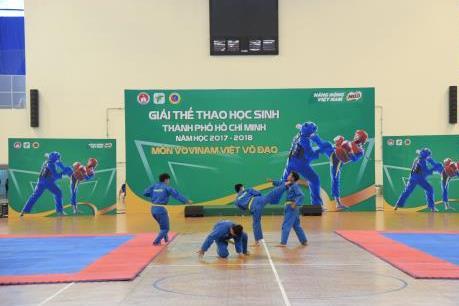 Khai mạc Giải Thể thao học sinh Tp Hồ Chí Minh năm học 2017-2018