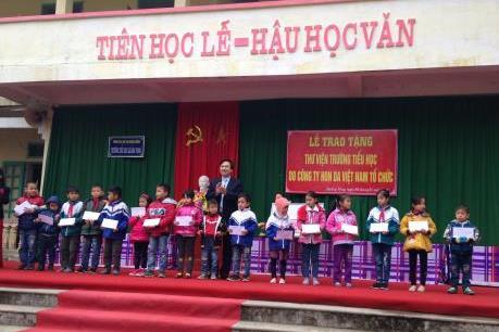 Honda Việt Nam đóng góp cho các hoạt động khuyến học 2,5 tỷ đồng