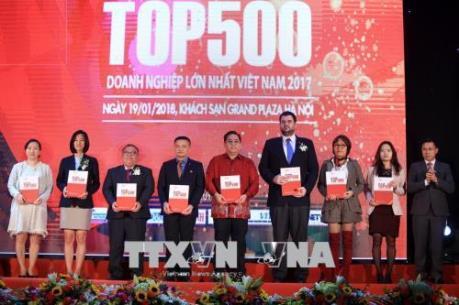 Công bố bảng xếp hạng VNR500 năm 2017