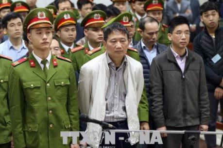 Xét xử Trịnh Xuân Thanh và đồng phạm: Trịnh Xuân Thanh bị tuyên phạt tù chung thân