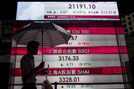 Thị trường chứng khoán châu Á diễn biến bất nhất