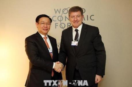 Kết thúc Hội nghị WEF Davos: Đoàn Việt Nam thu được nhiều kết quả thiết thực
