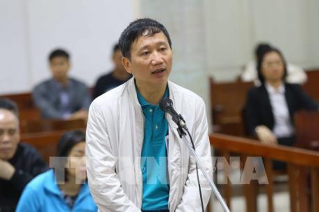 Xét xử vụ án tham ô tài sản tại PVP Land: Trịnh Xuân Thanh bị đề nghị mức án tù chung thân