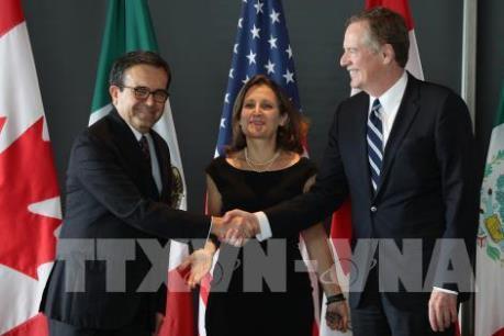 """Tiến trình tái đàm phán NAFTA bước vào giai đoạn """"tăng tốc"""""""