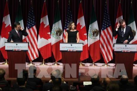 Vòng 7 tái đàm phán NAFTA: Đặt mục tiêu hoàn tất thêm 7 chương mới