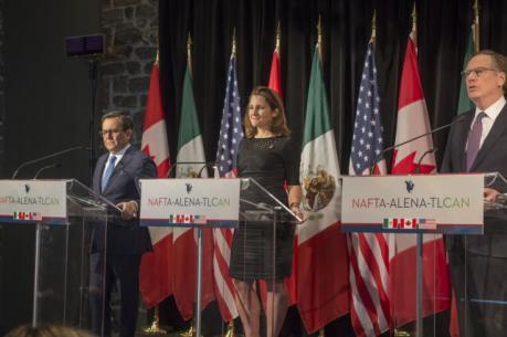 Đàm phán NAFTA tiến triển chậm, tăng thêm một vòng so với kế hoạch ban đầu