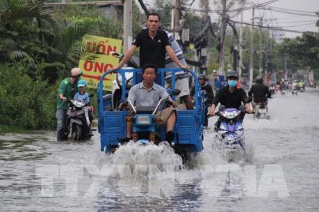 Thành phố Hồ Chí Minh - Phát triển trong . . . ngập lụt
