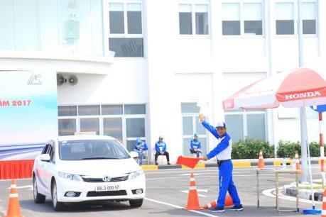 Honda Việt Nam triển khai rộng khắp hoạt động lái xe an toàn