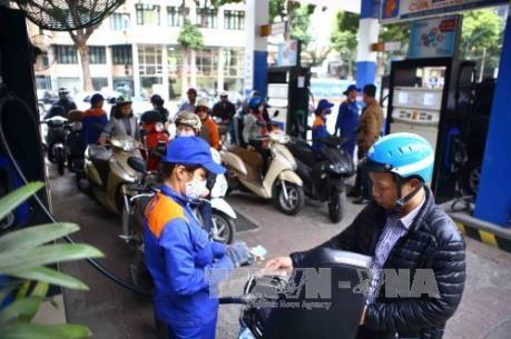 Giá xăng, dầu không biến động trước Tết