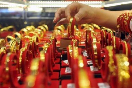 Vàng vững giá trên thị trường thế giới