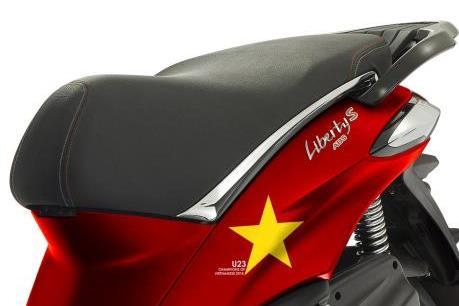 Piaggio ra mắt phiên bản Liberty dành cho fan hâm mộ U23 Việt Nam
