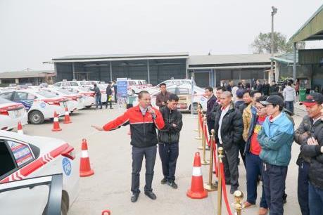 Toyota Việt Nam phát động chiến dịch tuyên truyền về an toàn giao thông 2018