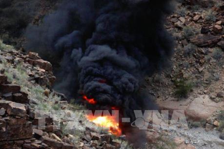 Mỹ: Rơi máy bay trực thăng làm 7 người chết và bị thương