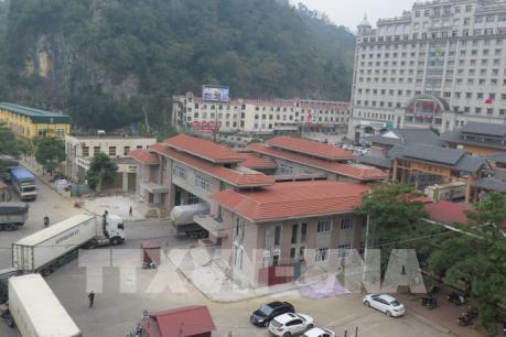 Lạng Sơn đã hết ùn tắc hàng nông sản tại cửa khẩu Tân Thanh