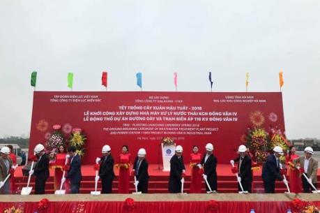 Viglacera hoàn thiện hệ thống hạ tầng tại Khu Công nghiệp Đồng Văn 4