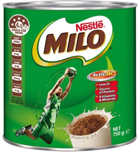 Nestle gỡ bỏ mức xếp hạng của sản phẩm bột dinh dưỡng Milo