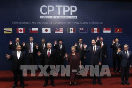 Những hình ảnh đầu tiên tại lễ ký kết CPTPP