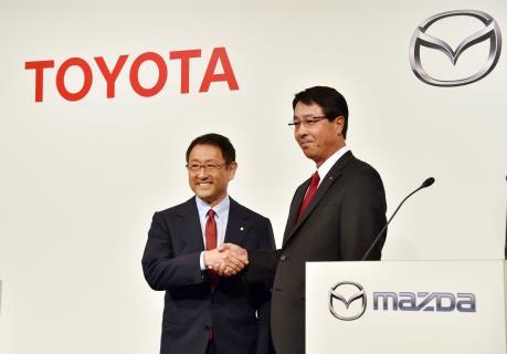 Toyota, Mazda góp vốn xây dựng nhà máy sản xuất ô tô ở Mỹ